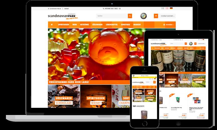 Webshop Scandinavian Park dealux